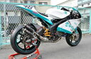 【イベント開催中!】 T2 Racing T2レーシング MC21用 右2本出し ステンレスチャンバーボディ ステッカータイプ:楕円形 NSR250R MC21