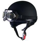 半帽タイプヘルメット LEAD リード工業 CROSS(クロス) CR-751 ビンテージハーフヘルメット