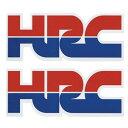 【在庫あり】HONDA ホンダ ステッカー デカール HRC ステッカー45X2