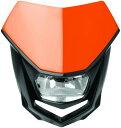 POLISPORT ポリスポーツ ヘッドライト本体・ライトリム/ケース ヘイローヘッドランプ【HALO HEADLIGHT】 カラー:オレンジ KTM