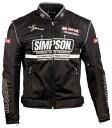 SIMPSON シンプソン NSM-3 メッシュジャケット サイズ:L