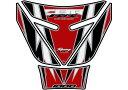 【在庫あり】MOTOGRAFIX モトグラフィックス タンクパッド カラー:レッド/ホワイト CBR1000RR 08-16