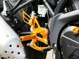 BABYFACE ベビーフェイス バックステップ カラー:シルバー SV650 ABS ('16-)