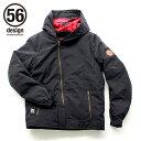 56design 56デザイン ライディングジャケット 56 S-Line Textile Parka Sライン テキスタイルパーカー サイズ:L