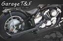 ガレージT&F フルエキゾーストマフラー ドラッグパイプマフラー タイプ1 2009年式以降のモデル(インジェクション仕様) ドラッグスター400(全年式)、ドラッグスター400クラシック(全年式)