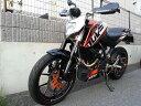 NGC-JAPAN ストレイガ その他マフラーパーツ リトミック エキゾーストパイプ 200DUKE MY2014-