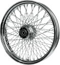 PAUGHCO パウコ ホイール本体 WHEEL RR 80TWS 16×5 09+ COLOR:Natural/FINISH:Chrome (MODEL:80 Spoke) [0204-0440]