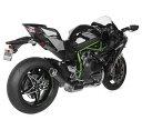 HOT BODIES RACING ホットボディーズ レーシング スリップオンマフラー MGP Exhaust [208254] Ninja H2 15-17