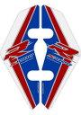 MOTOGRAFIX モトグラフィックス フロントフェンダーキット カラー:トリコロール/赤文字 S1000R(17-)