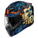 ICON アイコン フルフェイスヘルメット AIRFLITE GOOD FORTUNE HELMET サイズ:S(55-56cm)