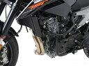 【在庫あり】HEPCO&BECKER ヘプコ&ベッカー ガード・スライダー エンジンガード カラー:ブラック 790 Duke