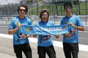 【在庫あり】チームカガヤマ その他グッズ Team KAGAYAMA×HYOD コラボアイテム2018 SUZUKA 8hours『Team KAGAYAMA U.S.A.』 マフラータオル