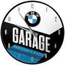 【在庫あり】ビーエムダブリュー その他グッズ BMW 壁掛け時計(ガレージ)