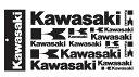 US KAWASAKI 北米カワサキ純正アクセサリー ステッカーシート【Sticker Sheet】