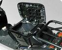 DeliBox その他シートパーツ ズーマー用 シート下ボックス(Z-3専用)純正フレーム用 カラー:ブラック ZOOMER [ズーマー]