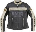 BATES ベイツ 2Way パンチドホールレザージャケット レディース サイズ:M