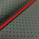 GRONDEMENT グロンドマン その他シートパーツ 国産シートカバー 張替タイプ カラー:フルエンボスブラック/赤パイピング スマートディオ