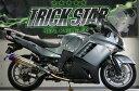TRICK STAR トリックスター スリップオンマフラー レーシングスリップオン タイプ:焼きチタン 1400GTR