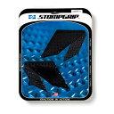 【在庫あり】ストンプグリップ STOMPGRIP タンクパッド トラクションパッド ストリートバイクキット カラー:ブラック YZF-R3/R25 15