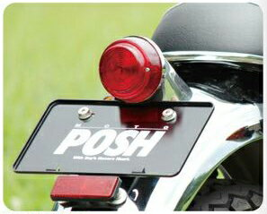POSH Faith ポッシュ フェイス テールランプ 丸型テールライトキット W400 W650 W800