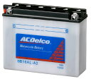 ACDelco ACデルコ DB16AL-A2 補水タイプバッテリー (電解液付属) 750SS 900SS 996S 996SPS V-MAX 1200 ビラーゴ750