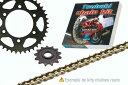 ツバキ チェーン Tsubaki Chain kit YAMAHA XJR1300SP (530 ALPHA kind XRG)【ヨーロッパ直輸入品】 16 38