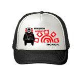 HONDA RIDING GEAR ホンダ ライディングギア 帽子 くまモン アメリカンメッシュキャップ カラー:ブラック