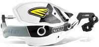 CYCRAサイクラハンドガードC.R.M.ウルトラハンドガードフルキットカラー:ホワイトハンドルタイプ:テーパーバー用