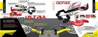CYCRAサイクラハンドガードC.R.M.ウルトラハンドガードフルキットカラー:イエローハンドルタイプ:テーパーバー用