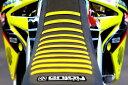 【イベント開催中!】 EnjoyMFG エンジョイ その他シートパーツ シートカバー シートスタイル:すべて黒/リブ・イエロー RM125 ...
