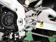 【セール特価!】 BABYFACE ベビーフェイス バックステップキット シフトパターン:逆チェンジ シルバー RSV1000R FACTORY RSV4 TUONO1000 [トゥオノ]