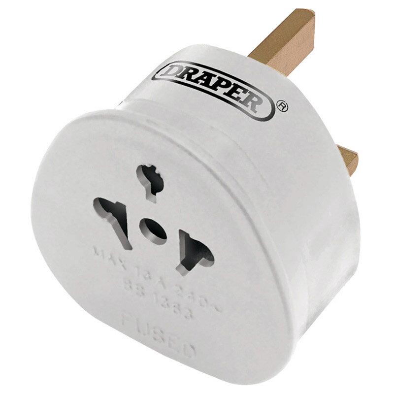 ドラッパー その他の工具 DRAPER Plug Adaptor UK / Ireland> EU【ヨーロッパ直輸入品】
