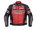 SIMPSON シンプソン ウインタージャケット SJ-6139PRM Fake Leather Jacket [フェイクレザージャケット] サイズ:LW