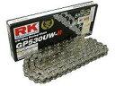 【在庫あり】RK アールケー TAKASOGO CHAIN GPスーパーシルバーシリーズチェーン GP420MRU リンク数:106
