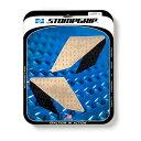 【在庫あり】ストンプグリップ STOMPGRIP タンクパッド トラクションパッド ストリートバイクキット カラー:クリア YZF-R3/R25 15