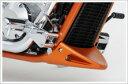 HONDA ホンダ アンダーカウル フロントスポイラー カラー:パールフェイドレスホワイト VT1300CX [Fury] SC61