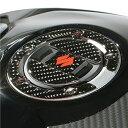 【在庫あり】US SUZUKI 北米スズキ純正アクセサリー ステッカー・デカール カーボン フューエルキャップデカール (Carbon Fuel Cap Decal)