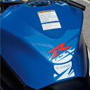 US SUZUKI 北米スズキ純正アクセサリー GSX-R タンクパッド (Gsx-R Tank Pad) カラー:Blue GSX-R1000
