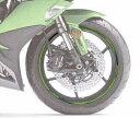 【イベント開催中!】 KAWASAKI カワサキ ステッカー デカール ホイールリムテープ カラー:グリーン NINJA 1000 ABS(ZX1000WHF) 17