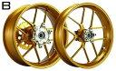 【セール特価!】WUKAWA ホイール本体 Aluminum Forged Wheel Type-B カラー:copper YZF-R1 98-01