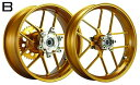 WUKAWA ホイール本体 Aluminum Forged Wheel Type-B カラー:Cinnamon VTR1000SP 00-06