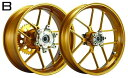 WUKAWA ホイール本体 Aluminum Forged Wheel Type-B カラー:CINNAMON GSX-R1000 01-04