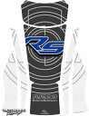 MOTOGRAFIX モトグラフィックス タンクパッド カラー:グレー/ブルー/ホワイト(柄あり) R1200RS
