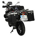 TOURATECH ツラーテック パニアケース・サイドボックス ZEGA-PRO「And-black」スペシャルシステム サイズ:38+38L R1200GS : R1200GS /ADV
