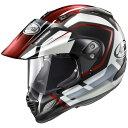 Arai アライ オフロードヘルメット TOUR-CROSS3 DETOUR [ツアークロス3 デツアー 赤] ヘルメット サイズ:Mサイズ:M(57-58cm)