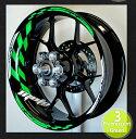 【イベント開催中!】 モトインクズ ステッカー デカール GPレーシングホイール リムステッカー1(GP Racing Wheel Stripes design 1) フロントホイールサイズ(front):17inch リアホイールサイズ(Rear):18inch