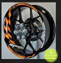 【イベント開催中!】 モトインクズ ステッカー デカール GPレーシングホイール リムステッカー1(GP Racing Wheel Stripes design 1) フロントホイールサイズ(front):17inch リアホイールサイズ(Rear):17inch