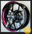 MOTOINKZ モトインクズ GPレーシングホイールストライプ・リムステッカー2(GP Racing Wheel Stripes design 2)