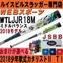 2018ルイスビル カタリスト2 TI 少年軟式用バットミドル【おまけ付】WTLJJR18M(JJR