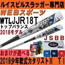 2018ルイスビル カタリスト2 TI 少年軟式用トップ【おまけ付】WTLJJR18T(JJR17T後継